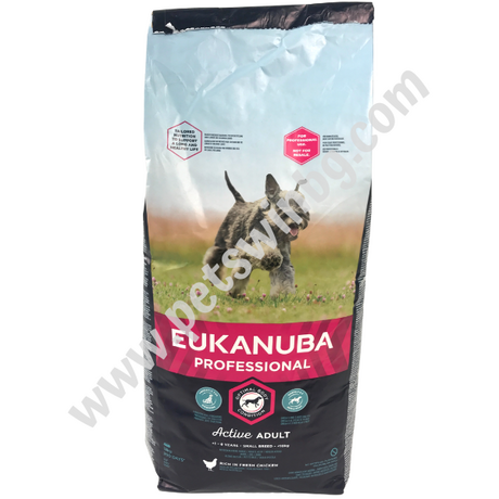 Eukanuba Adult Small Breeds 18кг - Храна за Кучета от Малки Породи над 1 година